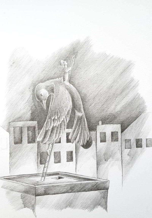 Silent-Art Zeichnung 2020-07-5