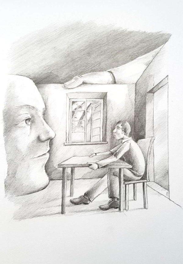 Silent-Art Zeichnung 2020-07-6