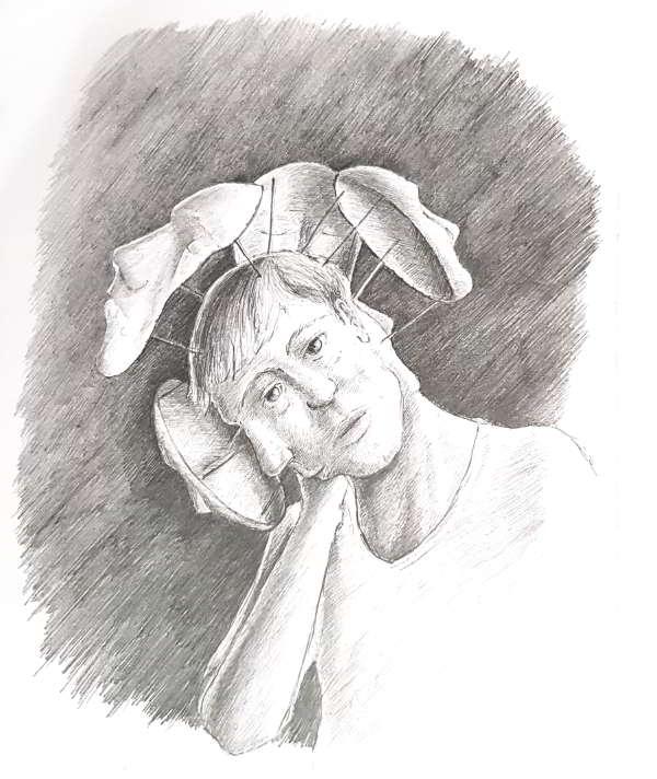 silent-art zeichnung fantasie