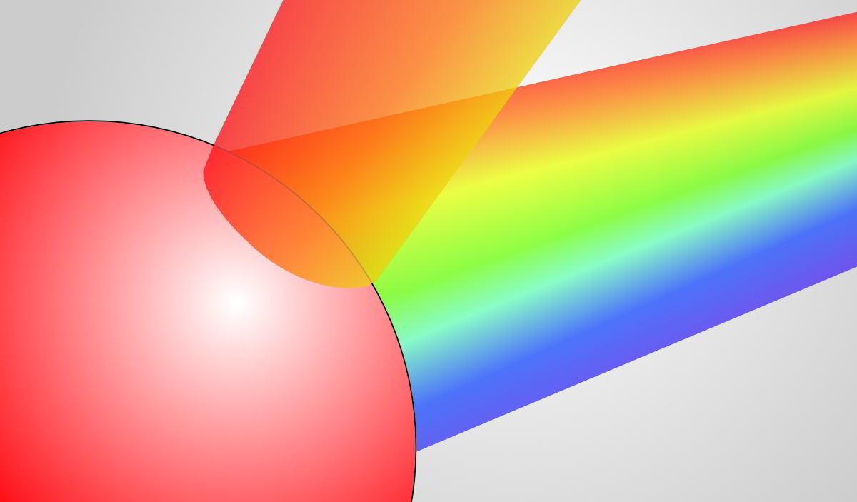 Silent-Art Licht Koerperfarbe und Reflexion