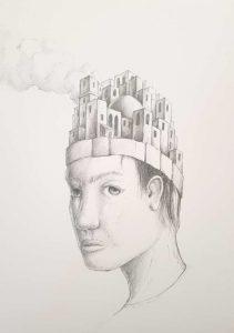 Silent-Art Zeichnung 2020-09-01