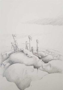 Silent-Art Zeichnung 2020-09-02