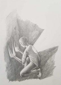 Silent-Art Zeichnung 2020-09-04