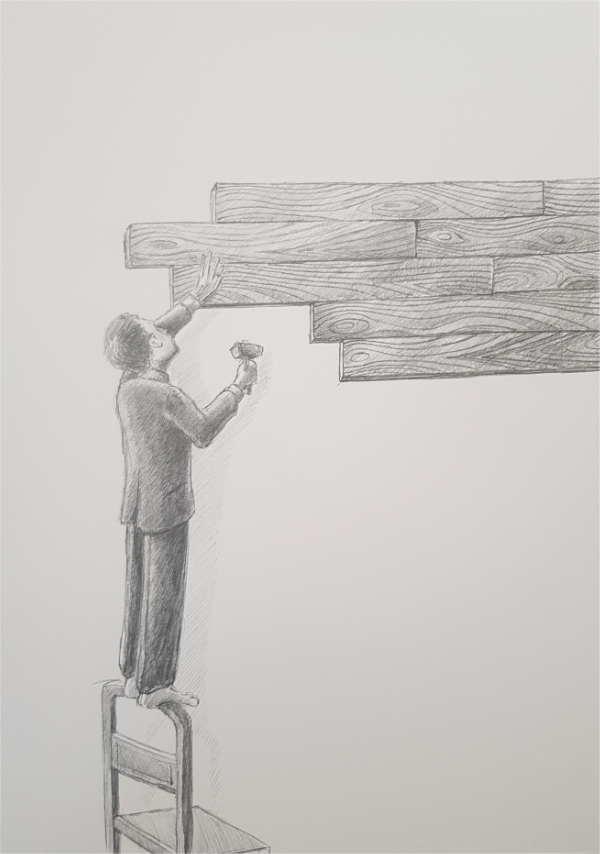 Silent-Art Zeichnung 2020-09-06