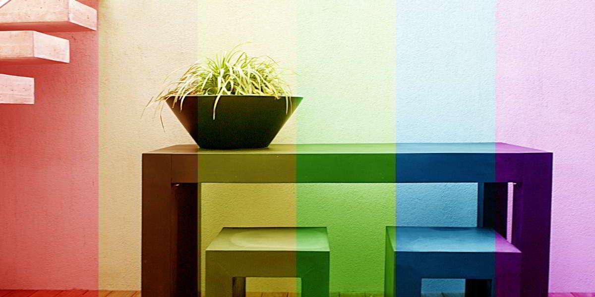 Silent-Art psychologische Wirkung von Lichtfarben