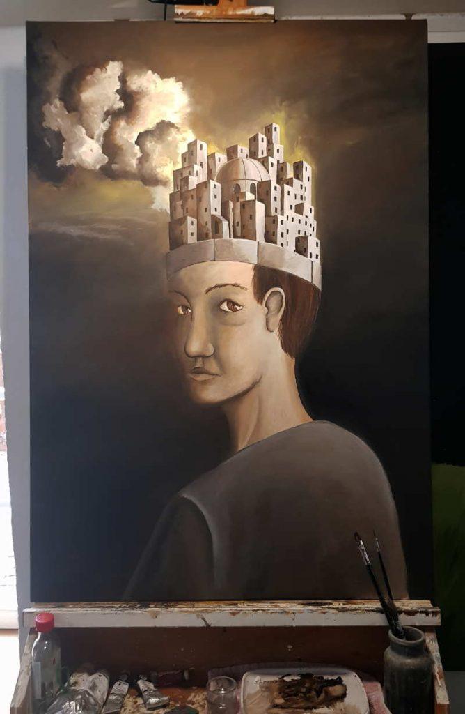 Silent-Art Ölbild 2020-10-02