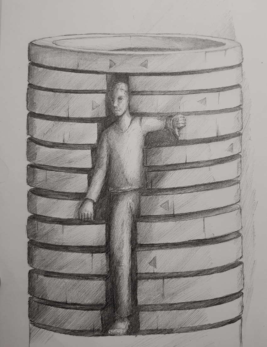 Silent-Art Zeichnung 2020-10-09