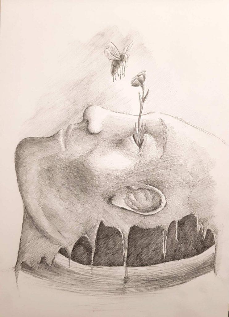 Silent-Art Zeichnung 2020-10-10