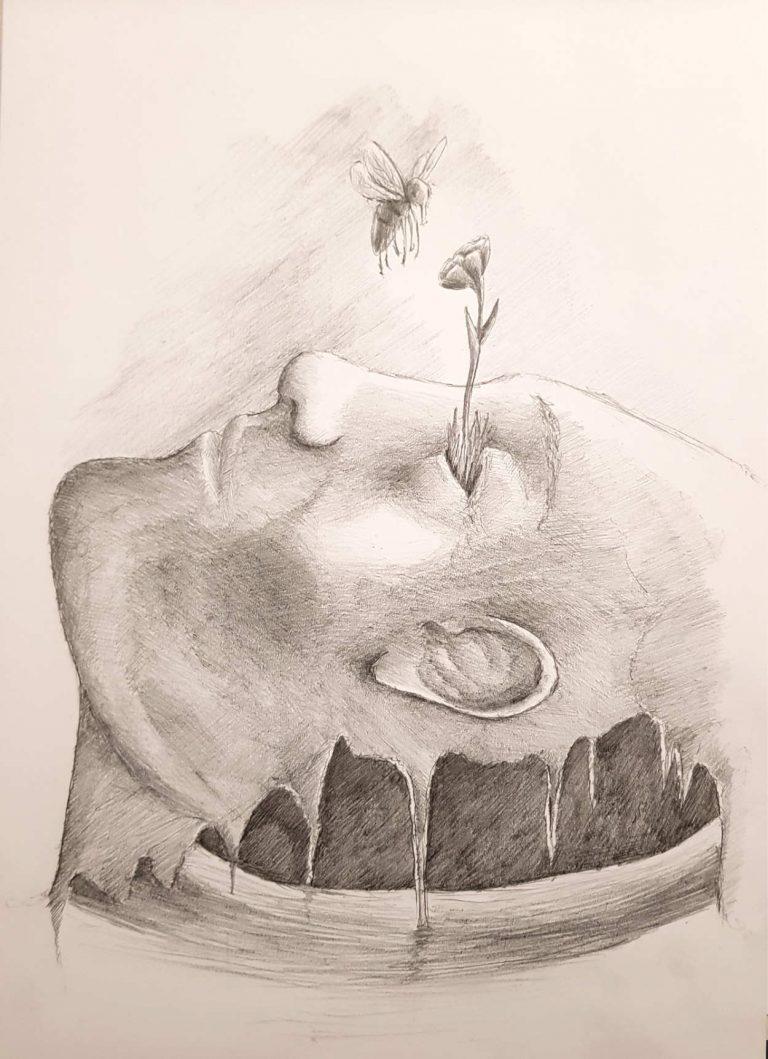 Silent-Art Zeichnung 2010-10-10