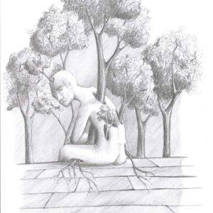 Kunstdruck Silent-Art Zeichnung 2020-10-22