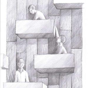 Kunstdruck Silent-Art Zeichnung 2020-11-12