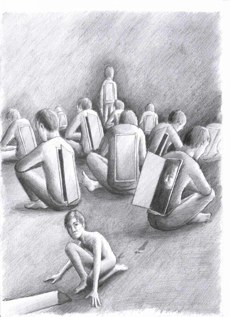 Silent-Art Zeichnung 2021-02-04