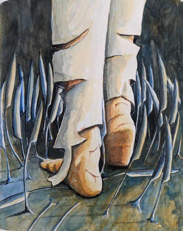 Silent-Art Gemälde Acryl 2021-06-21