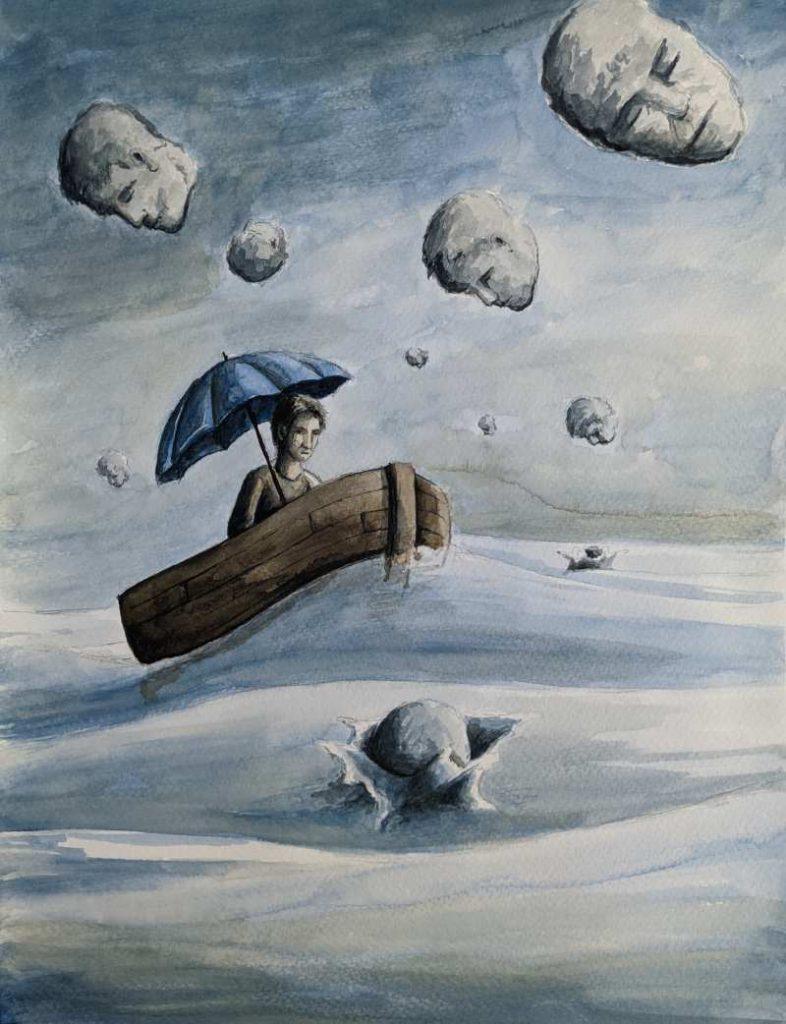 Silent-Art Gemälde Acryl 2021-06-09
