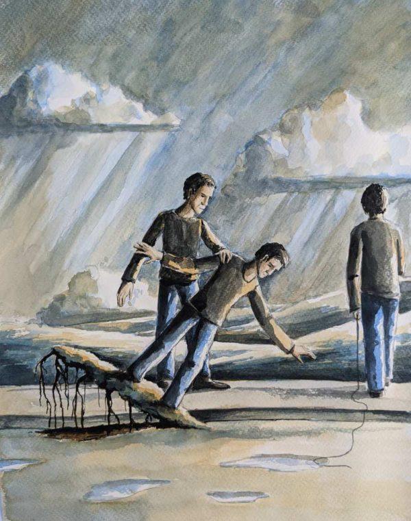 Silent-Art Gemälde Acryl 2021-06-12