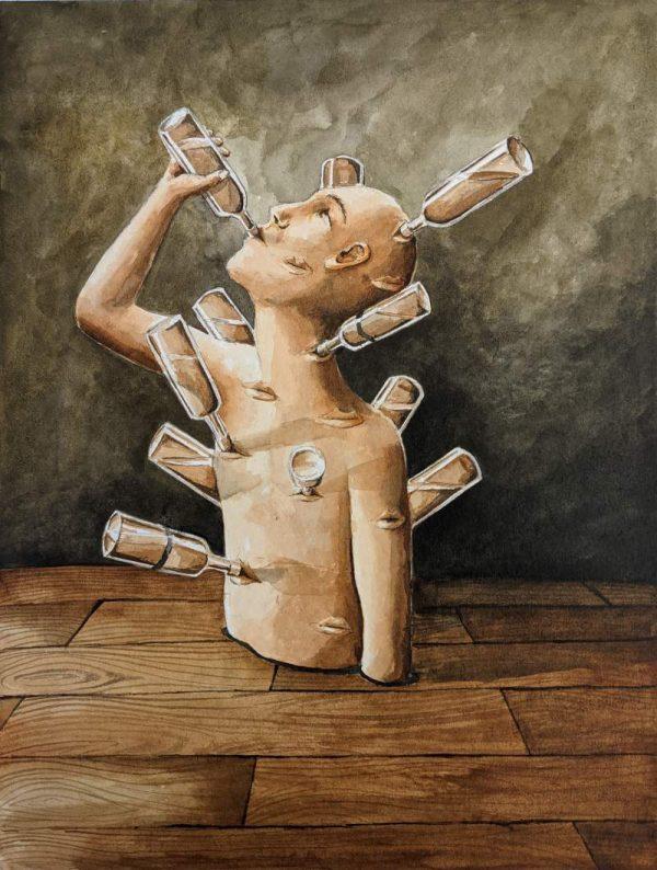 Silent-Art Gemälde Acryl 2021-06-01