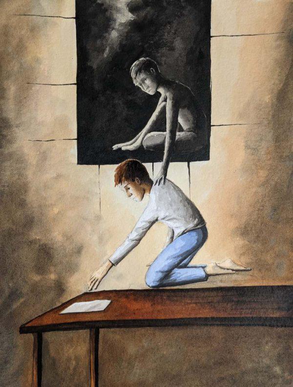 Silent-Art Gemälde Acryl 2021-08-01