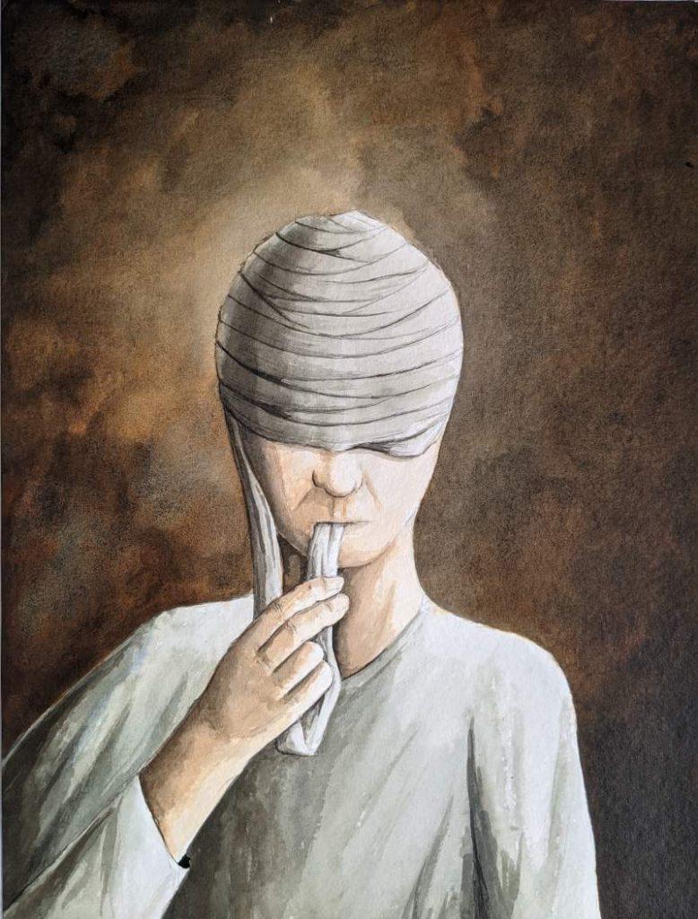 Silent-Art Gemälde Acryl 2021-08-03