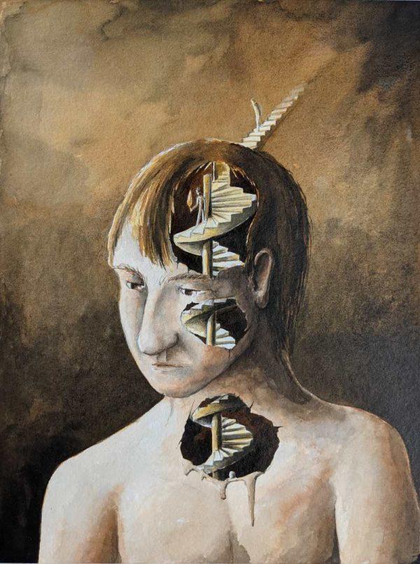 Silent-Art Gemälde Acryl 2021-08-05