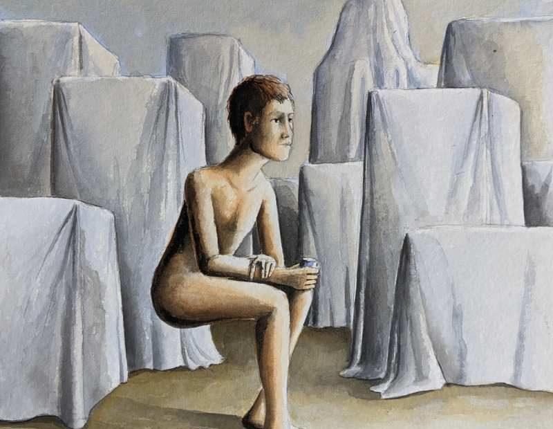 Silent-Art Gemälde Acryl 2021-08-06