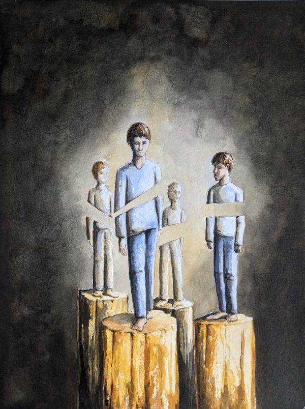 Silent-Art Gemälde Acryl 2021-08-07