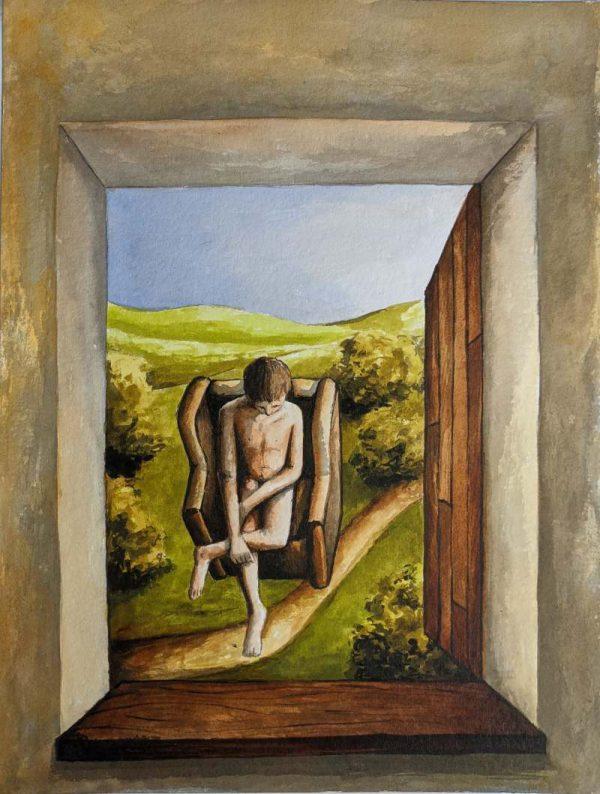 Silent-Art Gemälde Acryl 2021-08-09