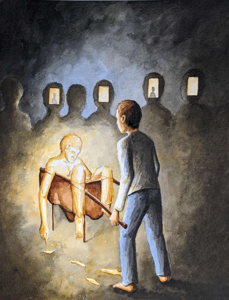Silent-Art Gemälde 2021-08-12