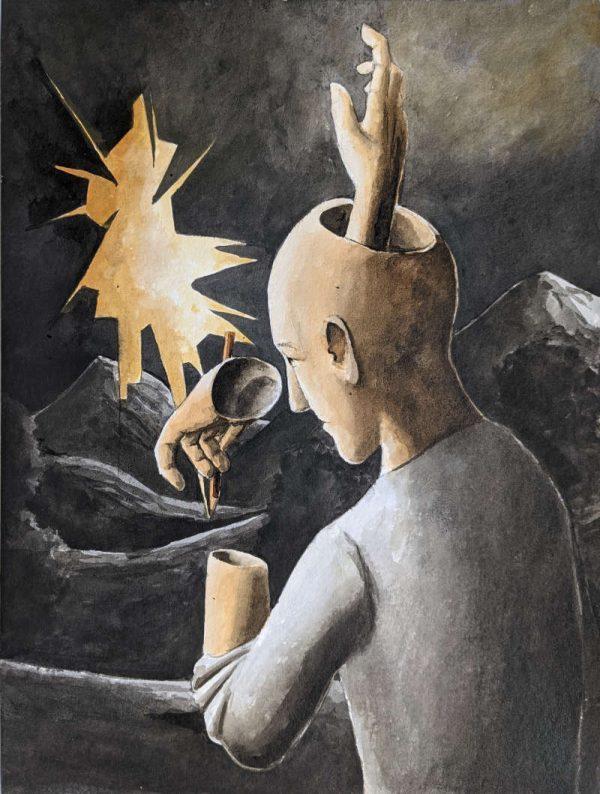 Silent-Art Gemälde 2021-08-14
