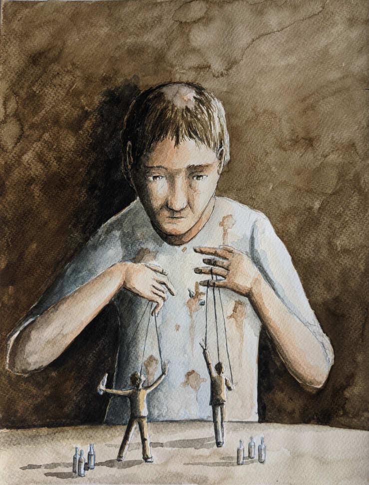 Silent-Art Gemälde 2021-08-15